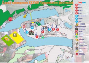 Карта Грушинский 2011