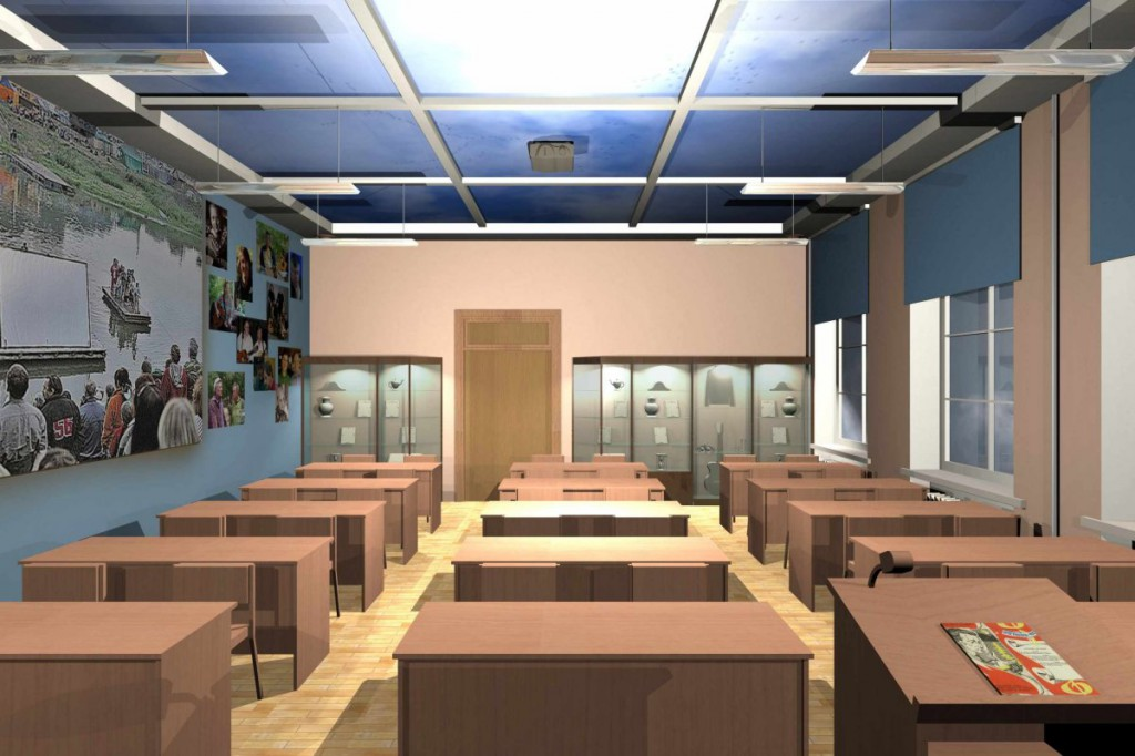 Дизайн-проект мемориальной аудитории