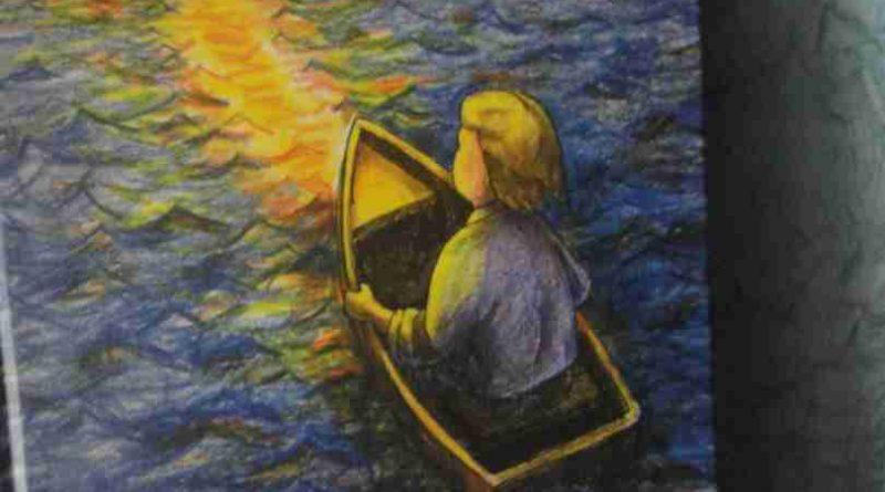 В лодке плыву золотой