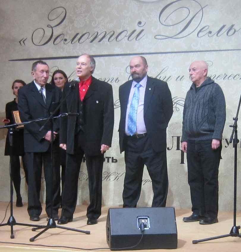 Премию фестивалю вручал Владимир КОНКИН