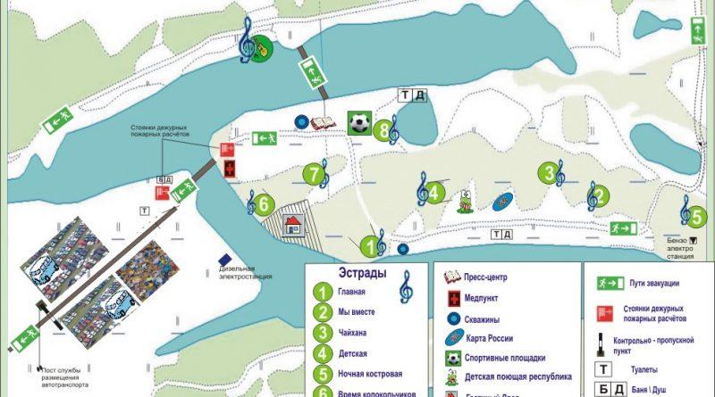 Карта Грушинский 2013