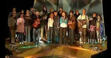 Концерт на горе Грушинского фестиваля