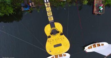 44 Грушинский фестиваль с дрона