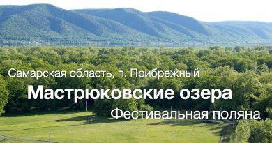 Мастрюковские озёра с высоты (май 2020)