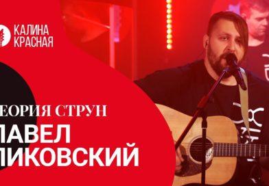 Павел Пиковский в студии радио Калина Красная